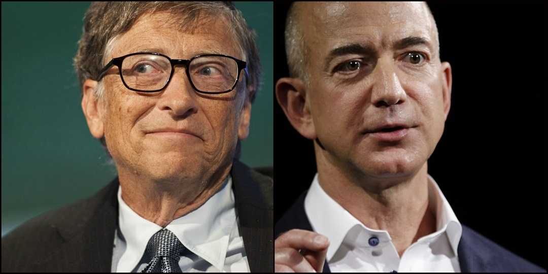 Domáce práce ako meditácia... Bill Gates a Jeff Bezos si riady po sebe poumývajú - IveKol
